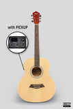 Caravan HS-MINI 1 Travel Baby GS Acoustic Guitar with FREE Gigbag