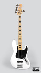 JCraft JB-1 5-String Electric Jazz Bass with Gigbag