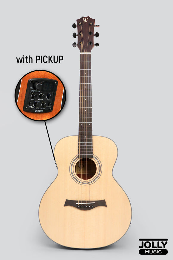Phoebus Progeny Baby-15GSe GS Mini Acoustic-Electric Guitar w/ Gig Bag