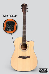 Phoebus Progeny PG-15ce Dreadnought Acoustic-Electric Guitar w/ Gig Bag