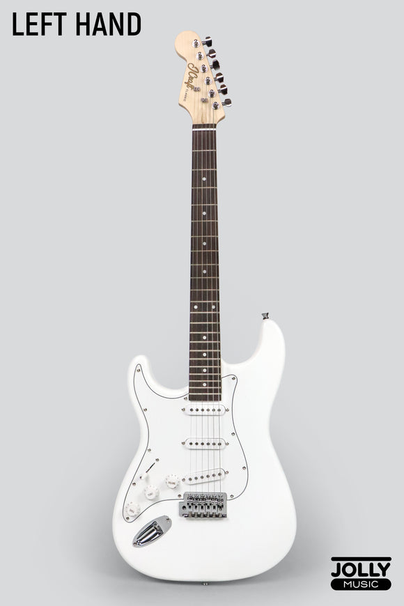 JCraft S-1 Left Handed Stratocaster Electric Guitar with Gigbag