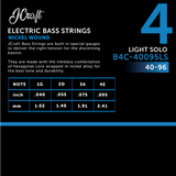JCraft Regular Light 4-String Electric Bass Guitar String 40-95