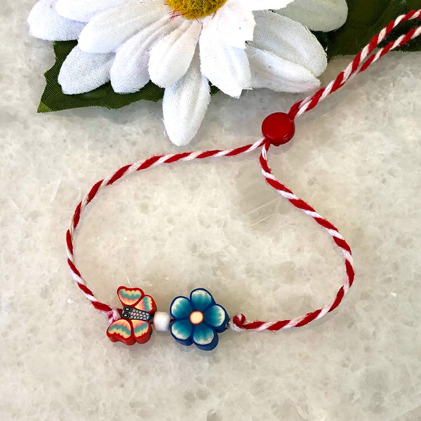 Bracelet Marti butterfly with flower