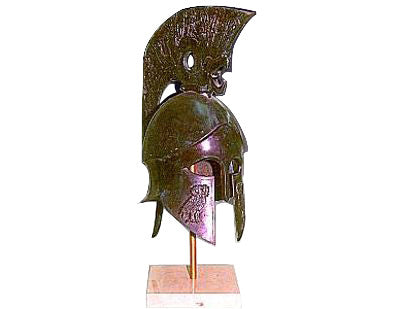 Delpheian Helmet with engraved Owl