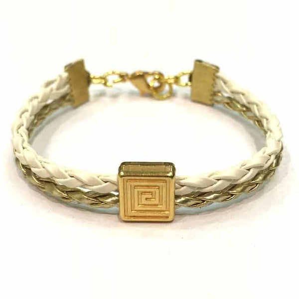 Braided Bracelet with Meander by EFI
