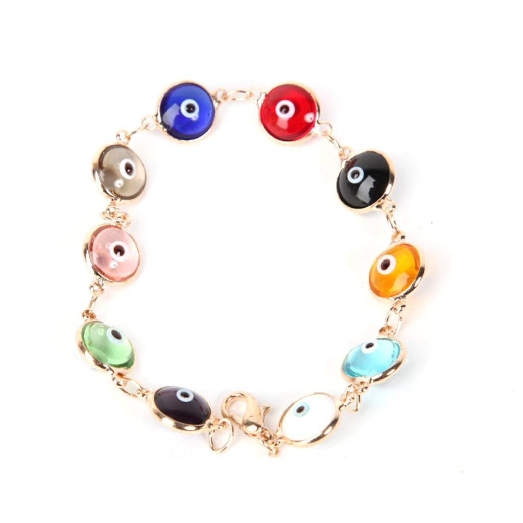Evil Eye Multi Color Bracelet