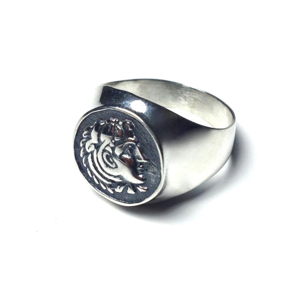 Silver Ring - Alexander the Great