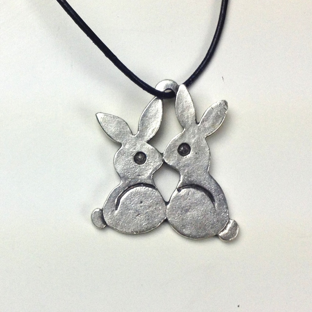 Greek Easter Bunny Pendant