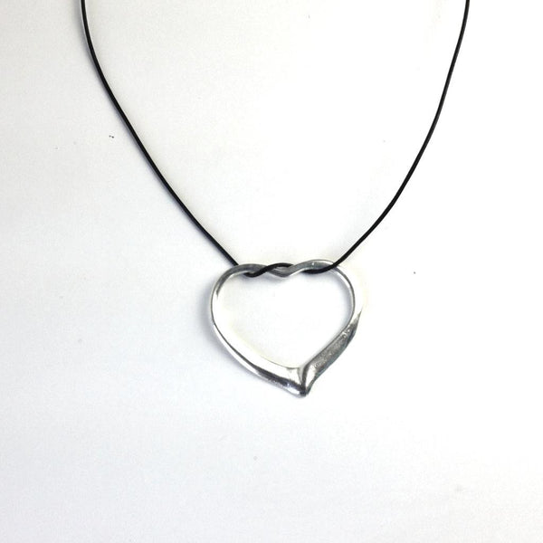 Silver Heart Pendant freestyle