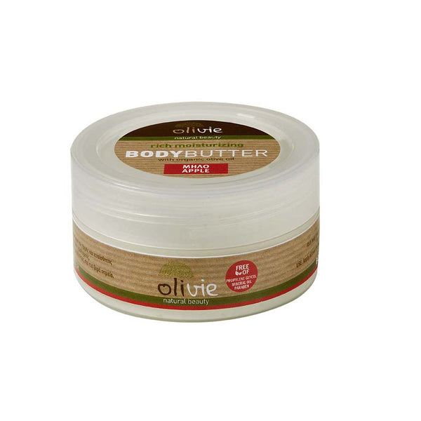 Olivie Body Butter with Organic Olive Oil and Apple