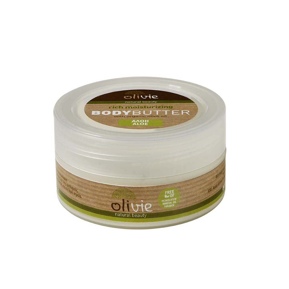 Olivie Body Butter with Organic Olive and Aloe Oil