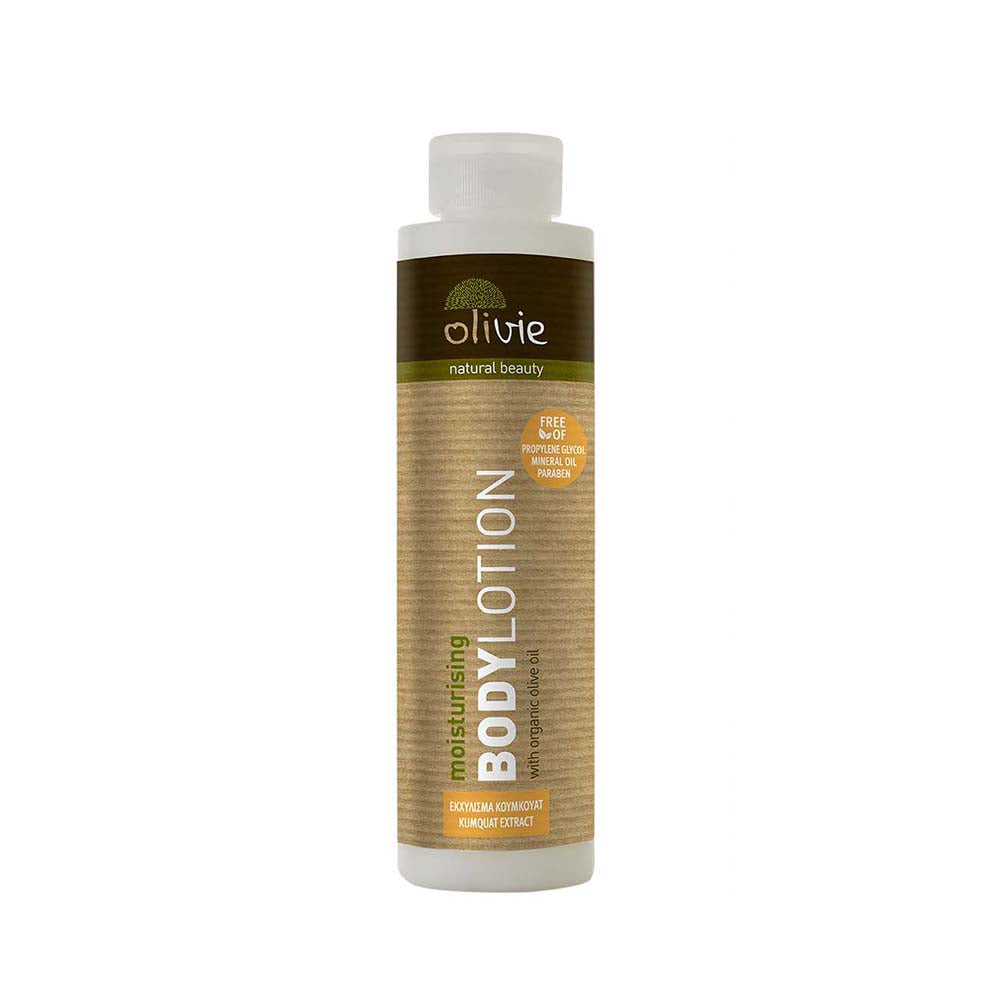 Olivie Body Lotion with Organic Olive Oil and Kumquat Extract