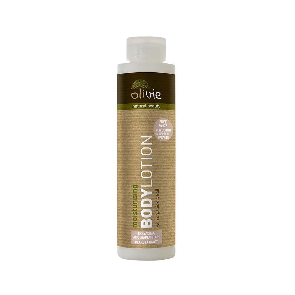Olivie Body Lotion with Organic Olive Oil and Pearl Extract