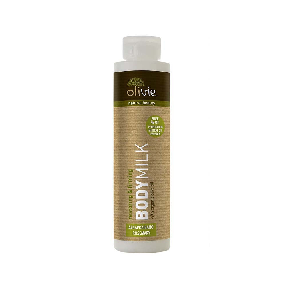 Olivie Body Milk with Organic Olive and Rosemary