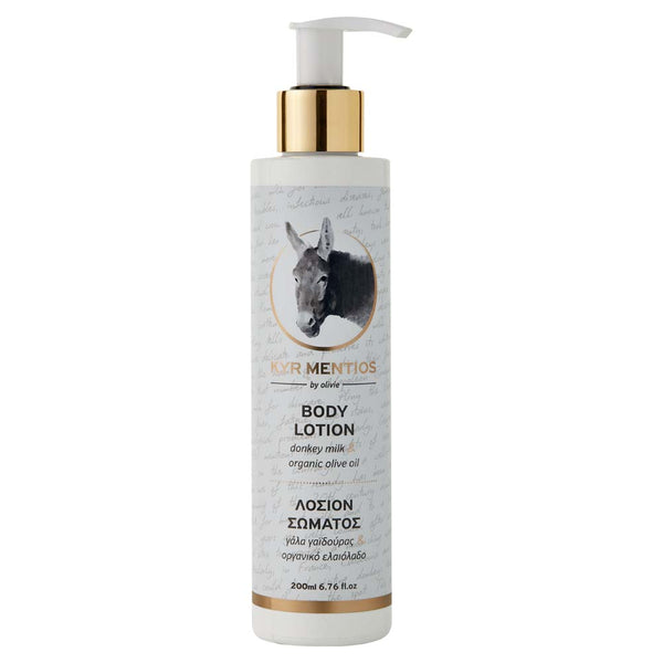 Olivie Donkey Milk with Organic Olive Oil Body Lotion