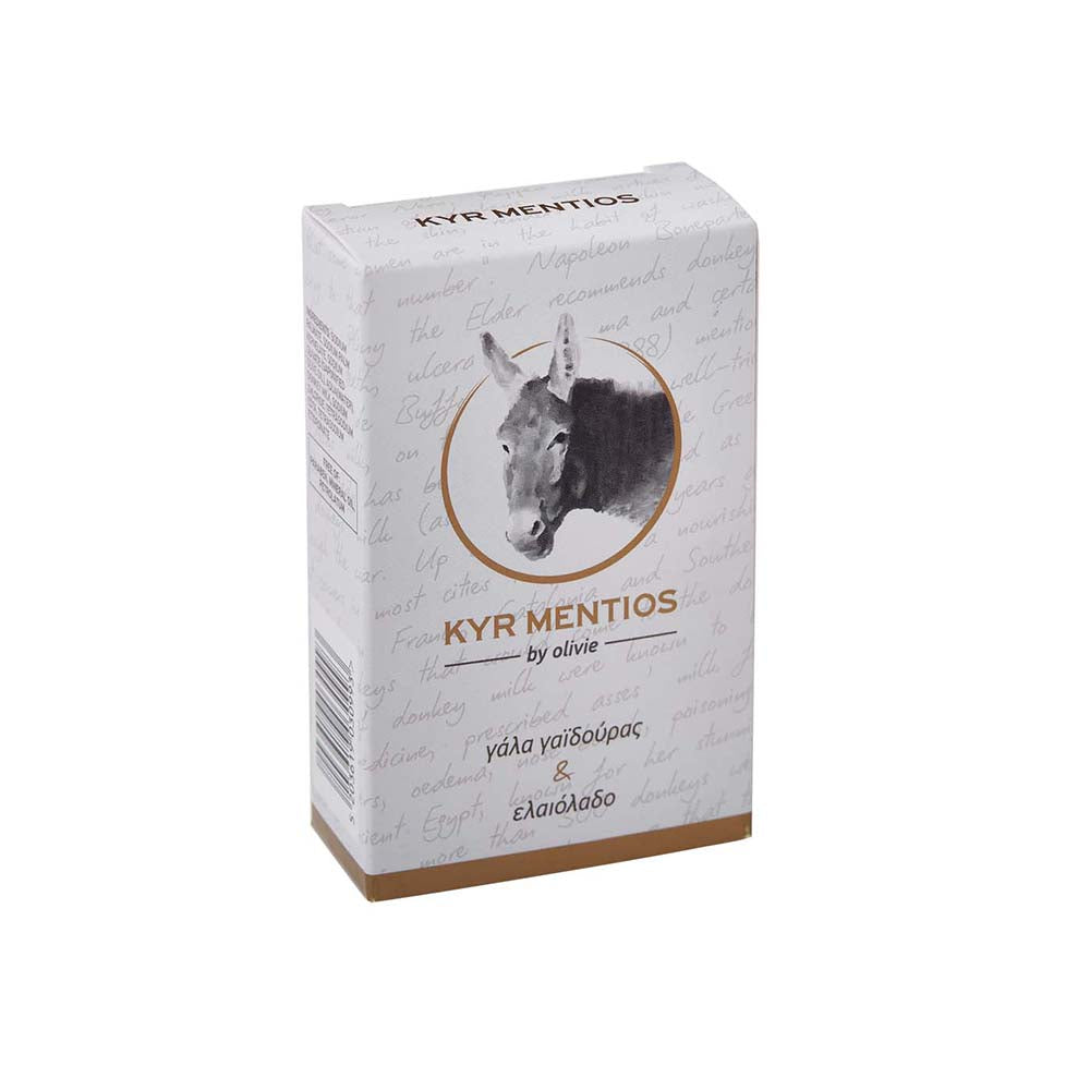 Olivie Donkey Milk with Organic Olive Oil Soap