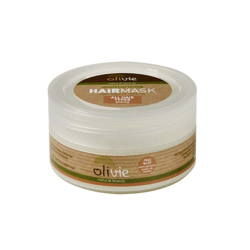 Olivie Ginseng with Organic Olive Oil Hairmask For All Hair Types