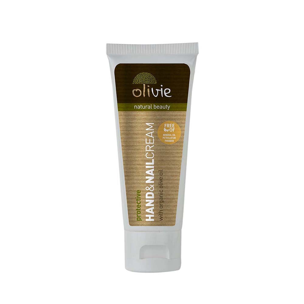 Olivie Hand Cream with Organic Olive Oil and Silk