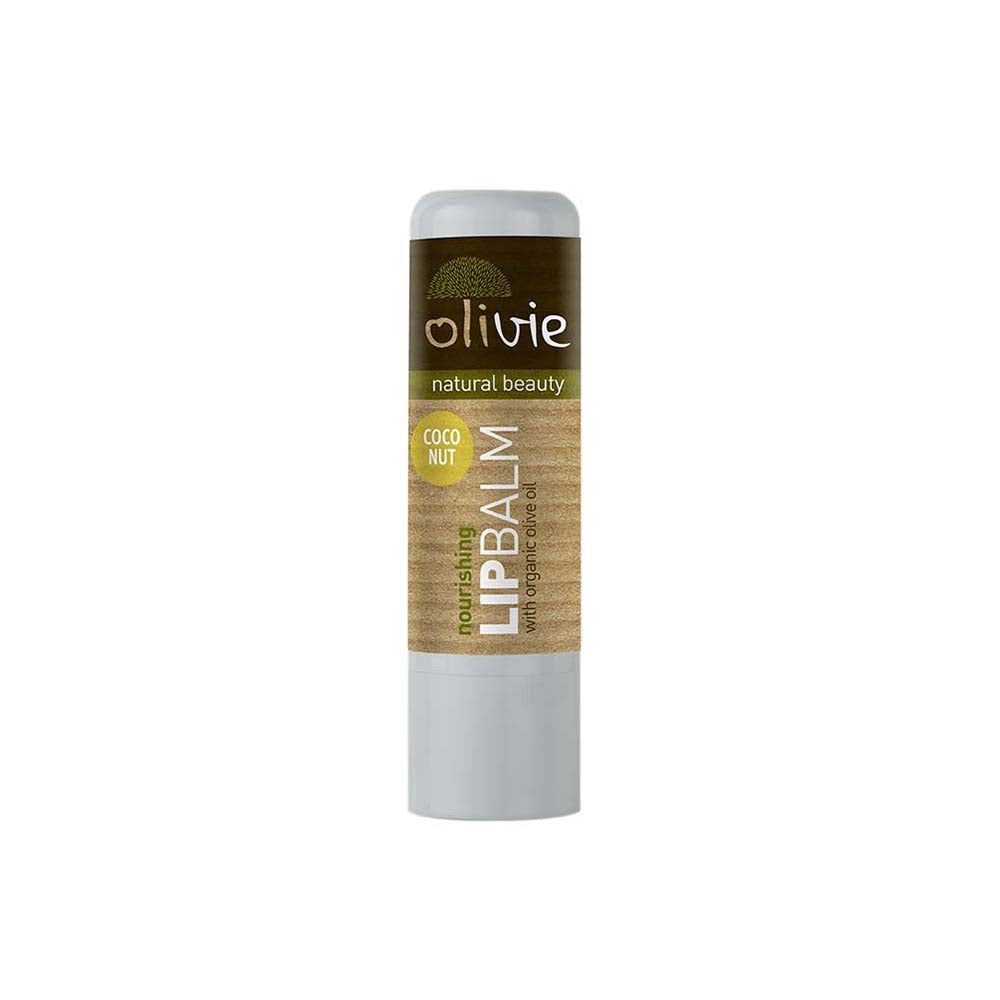 Olivie Lip Balm with Organic Olive Oil and Coconut
