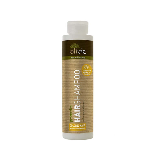 Olivie Sunflower Extract with Organic Olive Oil Hair Shampoo For Dry & Colored Hair