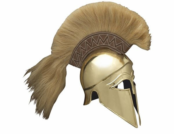 Corinthian Full Size Helmet with plume