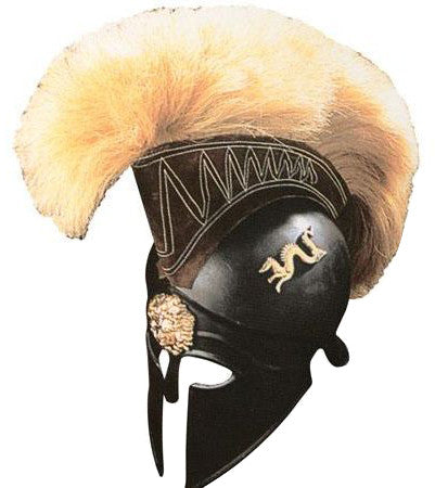 Royal Corinthian Full Size Helmet with Plume