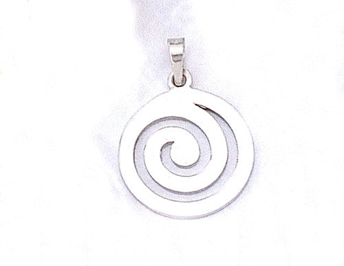 Spiral Greek Key Pendant AM101