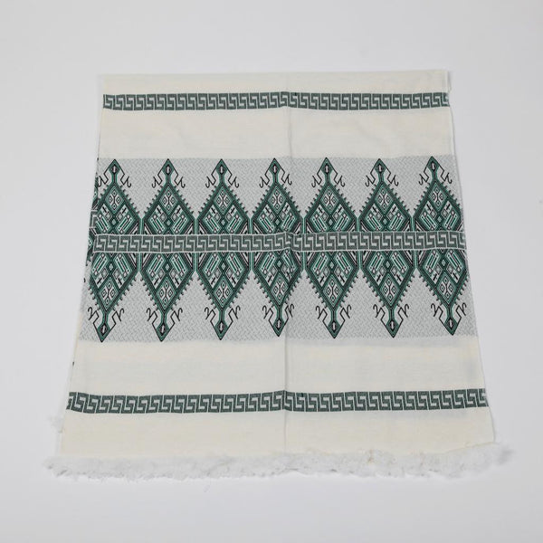 Greek Doily ~ Candleholders ~ Green
