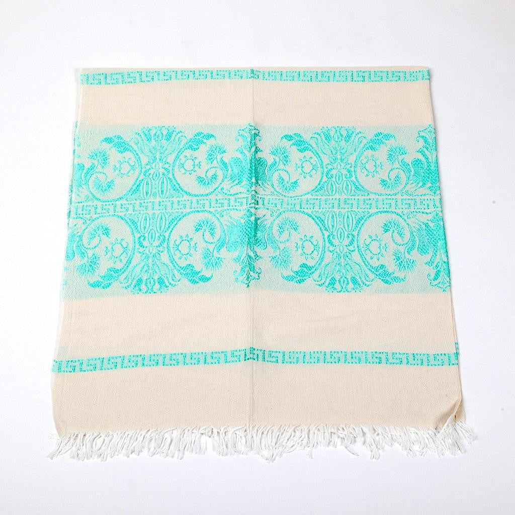 Greek Doily ~ Eagle ~ Turquoise