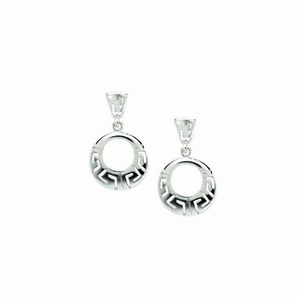 Meander ~ Sterling Silver Earrings