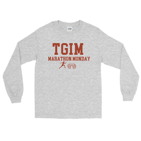 Marathon Monday Long Sleeve Shirt + FREE Shipping