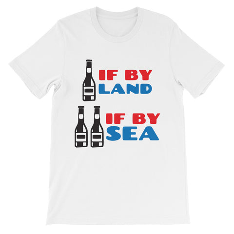 Beers If By Land Shirt + Free Shipping