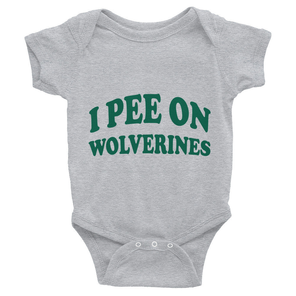 I Pee on Wolverines Onesie (FREE SHIPPING)