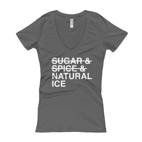Sugar Spice Natty Ice V Neck + Free Shipping