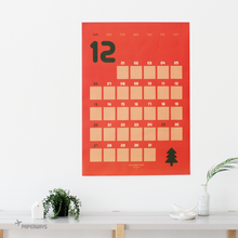 Load image into Gallery viewer, PAPERWAYS GIANT CALENDAR 2020