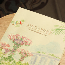Load image into Gallery viewer, L'APRÈS-MIDI TRAVEL JOURNAL - 17. SINGAPORE GARDENS BY THE BAY