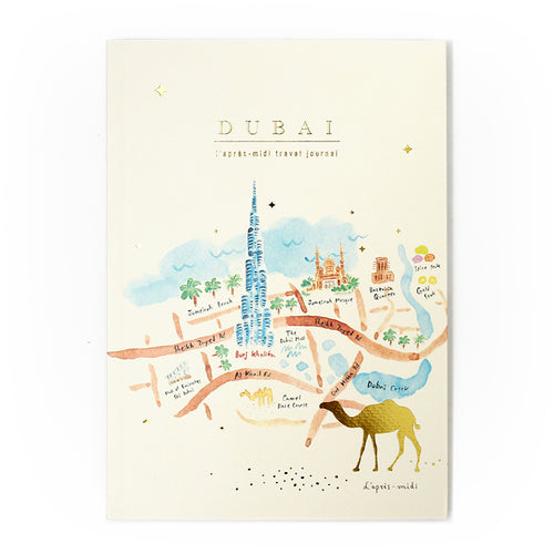 L'APRÈS-MIDI TRAVEL JOURNAL - 19. DUBAI (MAP)