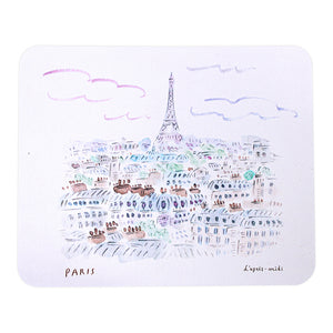 L'APRÈS-MIDI MICROFIBER MOUSE PAD - 3. PARIS CITY