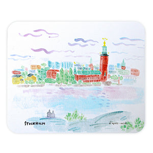 L'APRÈS-MIDI MICROFIBER MOUSE PAD - 1. STOCKHOLM CITY HALL