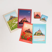 Load image into Gallery viewer, Ô VERMILLON POSTCARD SET