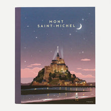 Load image into Gallery viewer, Ô VERMILLON MINI NOTEBOOK - 01. MONT-SAINT-MICHEL NIGHT