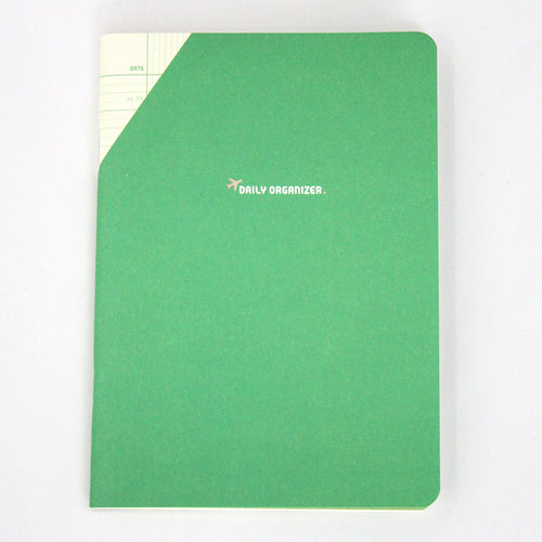 PAPERWAYS COMPAT DAILY ORGANIZER - GREEN