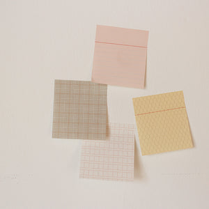 PAPERWAYS GLUEMEMO DUO - 5. BALD SQUARE