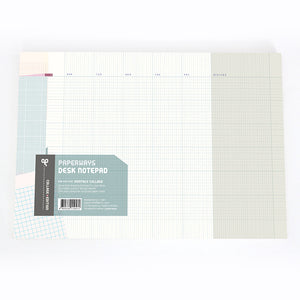 PAPERWAYS A4 DESK NOTEPAD - 08. MONTHLY COLLAGE