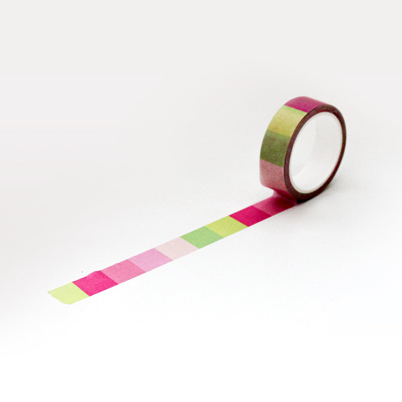 PAPERWAYS MASKING TAPE (15mm) - 02. LA VIE EN ROSE