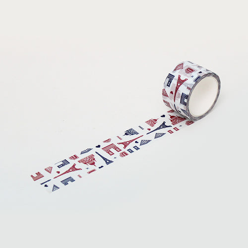 PAPERWAYS MASKING TAPE (30mm) - 01. PARIS PATTERN