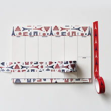 Load image into Gallery viewer, PAPERWAYS MASKING TAPE (30mm) - 01. PARIS PATTERN