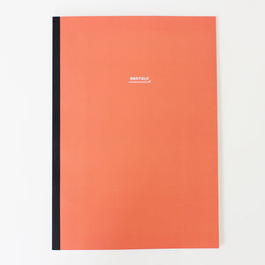 PAPERWAYS NOTEBOOK L - MONTHLY1 - CORAL RED