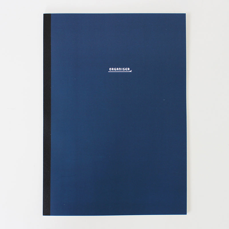 PAPERWAYS NOTEBOOK L - ORGANIZER1 - NAVY