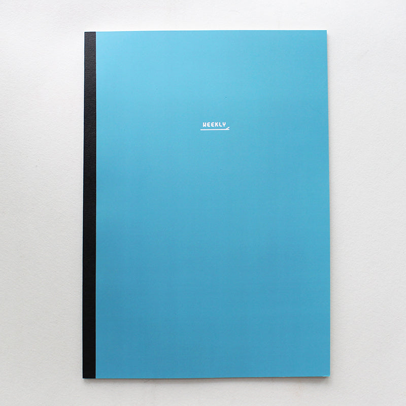 PAPERWAYS NOTEBOOK L - WEEKLY2 - CADGET BLUE
